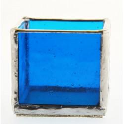 Ljuslykta Mini Blå